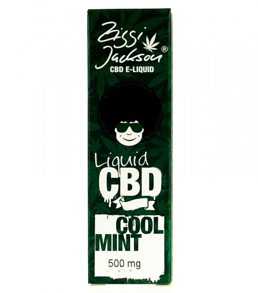 CBD Liquid Cool Mint - Ziggi Jackson