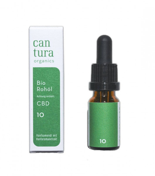Cantura Bio CBD Öl Raw 10% - thank you jane bio rohöl