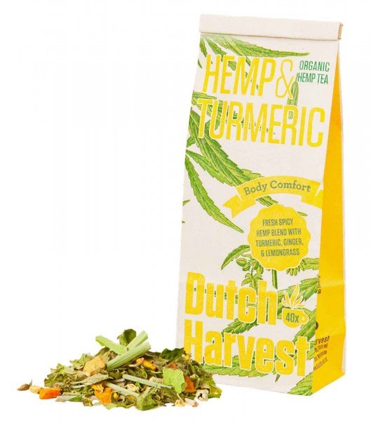 Hemp & Turmeric Bio Hanftee - Dutch Harvest